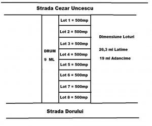 teren de vanzare, vanzari terenuri bacau, teren serbanesti, dezvoltatori